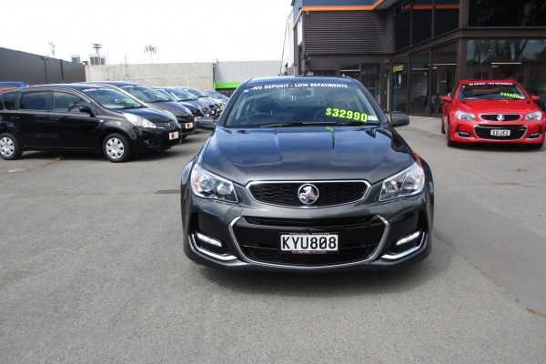 Holden Commodore SV6 2017