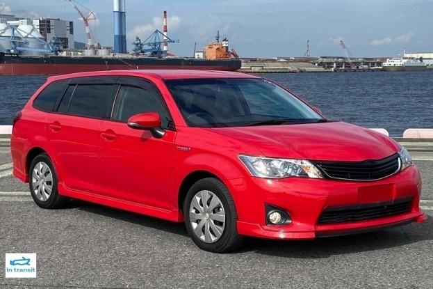 Toyota Corolla Fielder HYBRID G 2014