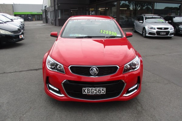 Holden Commodore SV6 VF2 2016